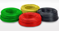 Green And Red Electrical Cables