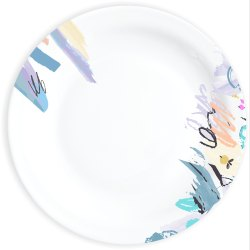 Melamine Sonata Plate Free Hand D-2076