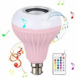 Bluetooth Music Bulb, For Indoor, Base Type: B22