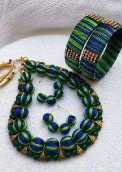Silk Thread Neckset