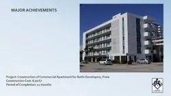 Commercial Building Construction Service, Location: Pune