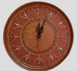 Clay Mellifluous Wall Clock