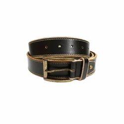 Harvelle Black Mens PU Leather Belt