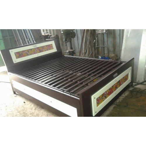 new concept a4638 e9258 Queen Size Metal Hydraulic Bed