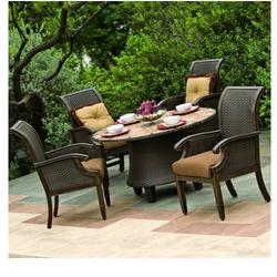 Garden Rattan Modern Set