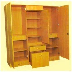 Built In Wooden Cupboard