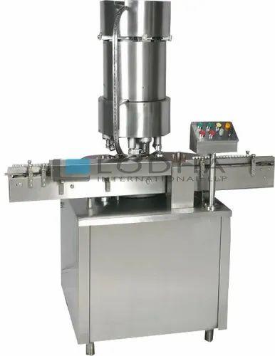 Four Head Vial Cap Sealing Machine