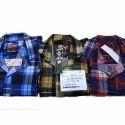Mens Cotton Check Casual Shirt, Size: M, L & Xl