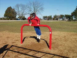 Outdoor Playground Exercise Unit