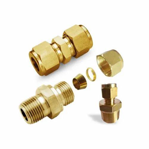 Brass Double Ferrule Fittings