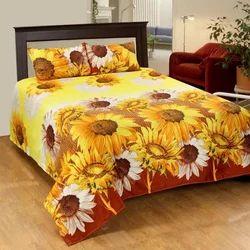 Sunflower 3D Bedsheets