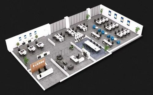 Full Office Designing And Complete Setup