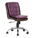 Libranejar LB Workstation Brown and Purple Chair