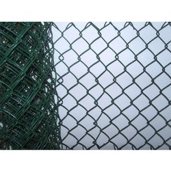PVC Coated GI Green PVC Coated Chain Link Fencing, Packaging Type: Roll