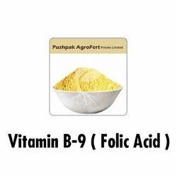 Vitamin B9 Folic Acid Powder, Packaging Size: 25, 50 Kg