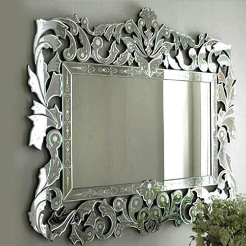 Designer Glass Mirror At Rs 140 Square Feet Glass Mirrors Id 19995442088