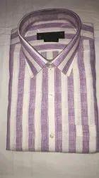 Full White Pure Linen Shirt