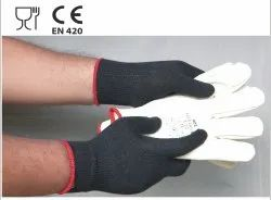 Cold Skin Seamless Thermal Yarn Gloves