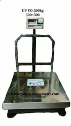 Platform Weighing Scale with Receipt Printer