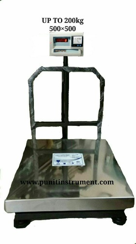 Platform Scale - Platform Weighing Scale with Receipt