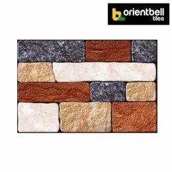 Orientbell OEM PAVIA MULTI Exterior Wall Elevation Tiles, Size: 300X450 mm