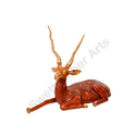 Decorative Brass Deer Statue