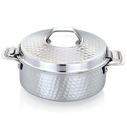 Stainless Steel Hammered Hot Pot