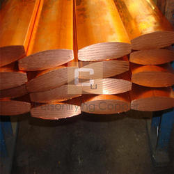 Oval Copper Anode