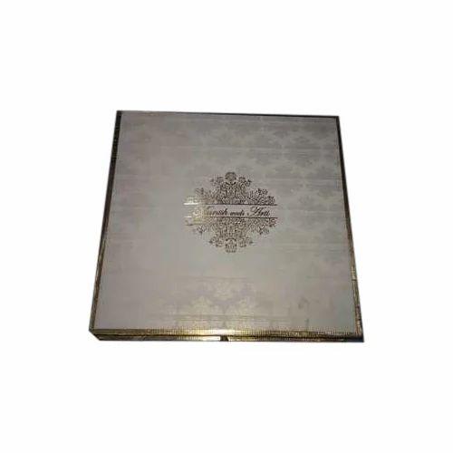 Rectangular Cardboard Wedding Card Box Rs 90 Piece Thareja Box