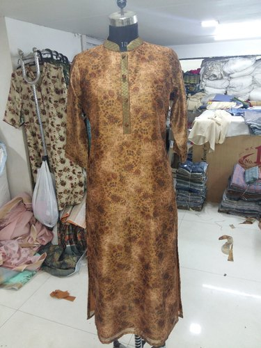 Silkina Silk With Digital Printed Kurtis