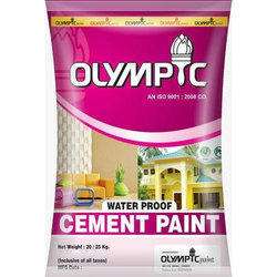 Waterproof Cement Paint, 20/25 Kg