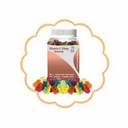 Vitamin C 30 mg Gummy, Packaging Type: Jar