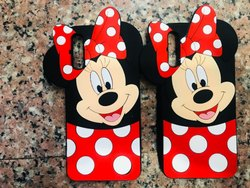 Mickey Mouse Cover Cartoon Rubber Mobile Cover