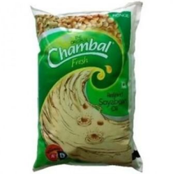 Chambal Refined Oil 1 Ltr Pouch