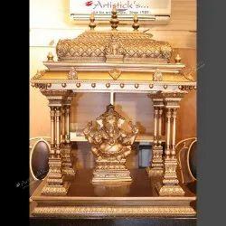 Artisticks Brass Pooja Mandir