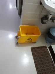 Yellow Plastics Dustbins