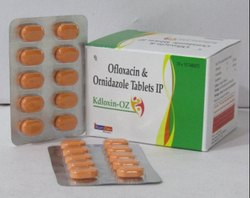 Ofloxacin 200mg Ornidazole 500mg