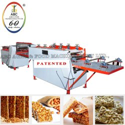 Chikki Sheeting and Cutting Making Machine
