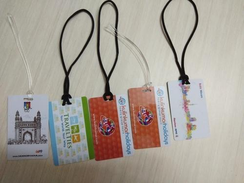 Plastic Luggage Tags, Packaging Type: Poly Bag