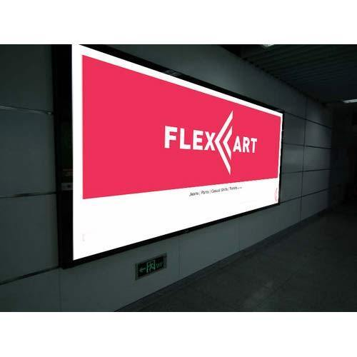Rectangle Flex Backlit Frame Sign Board