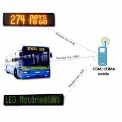 LED Bus Destination Display System