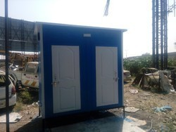 FRP Executive Joint Toilet Cabin