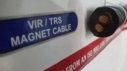 2 Core Black Magnet crane rubber cable