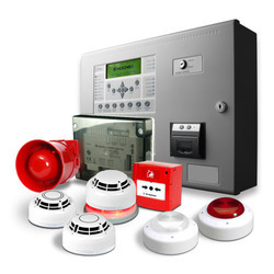 M S Body Red Fire Alarm Systems