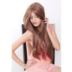Women Fiber Synthetic Lace Wig
