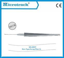 Vitreoretinal Plain Forceps Straight (SS) - Ophthalmic Surgical Instruments