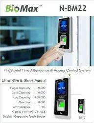 Biomax Biometric Attendance System