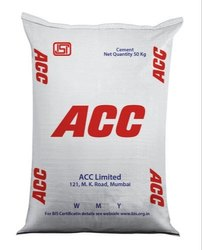 PPC (Pozzolana Portland Cement) ACC Cement, Packaging Type: HDPE Sack Bag, Packaging Size: 50