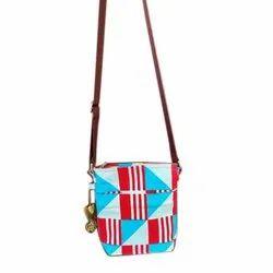 Earthsave Adjustable Cotton Canvas Sling Bag