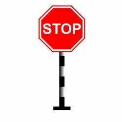 Stop And Go Signs Board